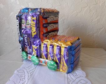 Chocolate Lovers Dream Train,Unique,Hand Crafted,Cadburys Etc