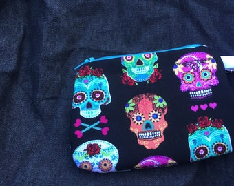 Day Of the Dead Wristlet/ Coin purse 4