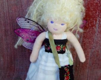 6-1/2 Inch Waldorf Fairy Doll
