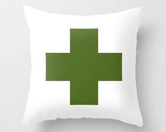 "modern minimalist, designer pillow, green, cushions, pillows. 16"" x 16"" (40 x 40 cm), 18"" x 18"" (45 x 45 cm) or 20"" x 20"" (50 x 50 cm)"