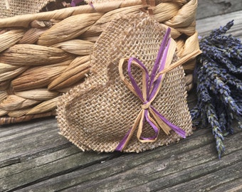 Lavender Sachets, Rustic Decor, Aromatherapy