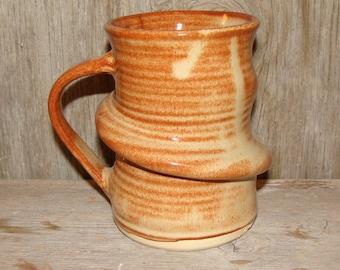 Brown n Cream Coffee Mug (14 oz)