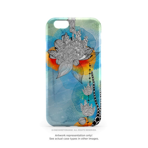 iPhone 7 Case Coral Floral iPhone 7 Plus Case iPhone 6s Case iPhone SE Case iPhone 6 Case iPhone 5S Case Galaxy S7 Case Galaxy S6 Case I15