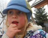 Kid's Winter Cap, Merino Wool and Cashmere