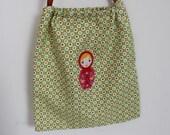 Russian Doll drawstring bag
