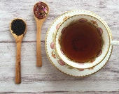 ROSES EARL GREY Organic Full Leaf Tea / Loose Leaf Tea / Earl Grey & Rose Petals