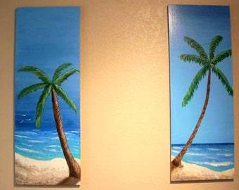 Palm Tree I and II