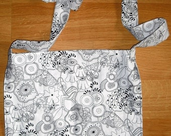 Colorable Shoulder Bag - Reversible
