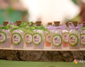 Tinkerbell Inspired Pixie Dust Tags