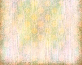 Digital Scrapbook Paper, Orange Polka Dost