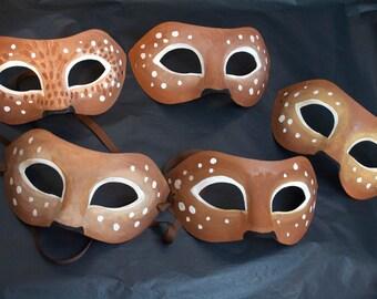 Deer Mask / Faun Fantasy Costume / Masquerade / Woodland Creature