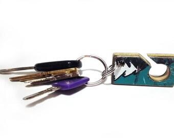 Recycled Skateboard Belt Loop Key Clip