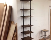 Custom Skinny Shelving Unit