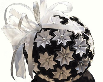 Personalized 1st anniversary gift First anniversary gift Paper anniversary gift Origami kusudama ball  Grandma gift Mother's day gift