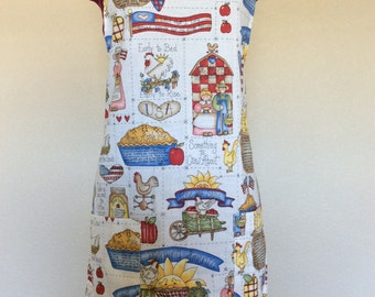 Americana Country Chef Style Apron