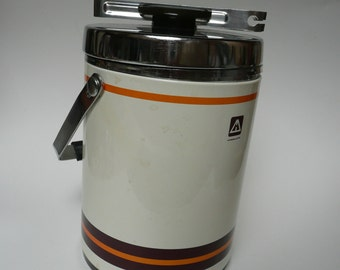Charming Vintage Retro thermos 1.3 liter Hima Ice Jar Pitcher with tongues by Himalaya Housewares Inc