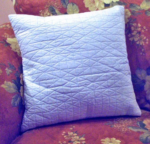 Light Blue Throw Pillow Covers : Items similar to Light Blue Cotton Throw Pillow Cover on Etsy