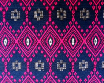 Upholstery Fabric Woven Fabric Yarn Dyed Tribal Home Decorating Fabric Sold by Yard