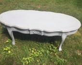 Lightly Distressed French Provincial Coffee Table