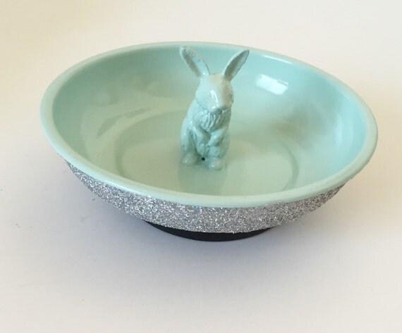 Glitter bunny bowl for Glitter bowl
