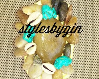 Rock. Cuff bracelet