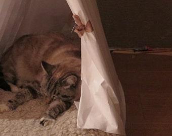 Foldable Nest for Cat, Cat bed, Dog pet, design for pet, glamping,