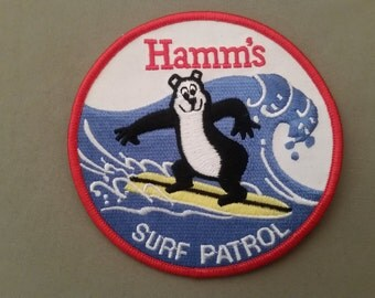 hams surf patrol embroidered patch