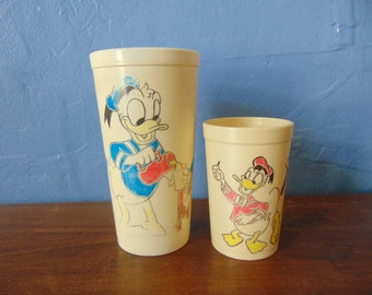 Childs Donald Duck Drinking tumblers