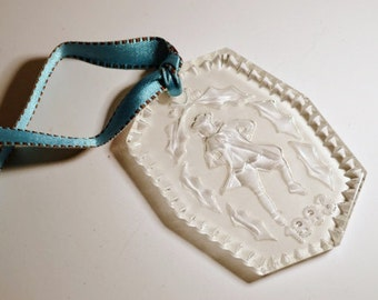 1993 Waterford Glass Ornament Lord a Leaping