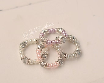 NEW baby bracelets, rhinestone bracelets, newborn jewelry, baby bracelet, baby jewelry, its a girl present, baby props
