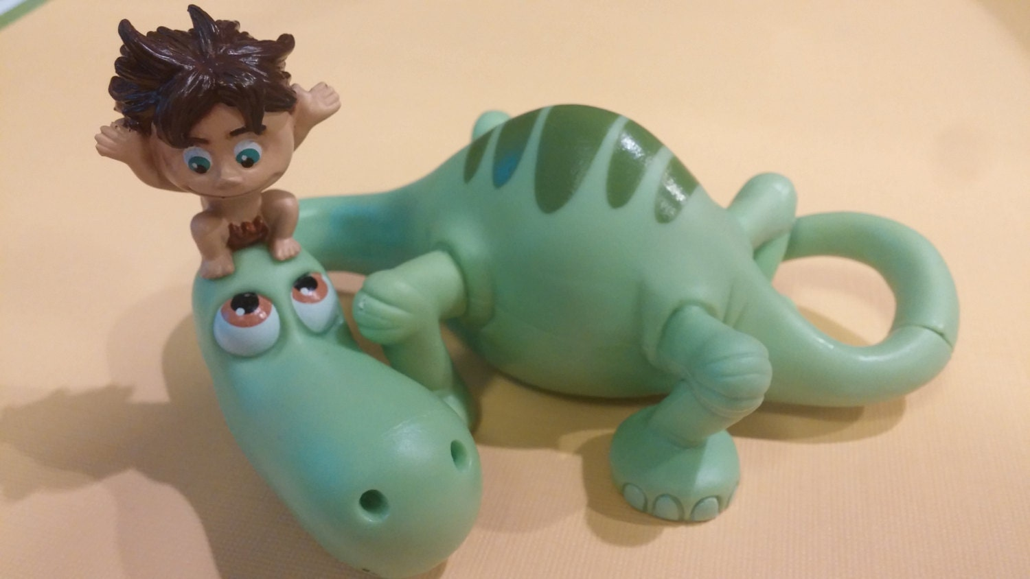 Dinosaur Cake Decorations Toppers : THE GOOD DINOSAUR cake topper Disney Pixar Arlo and Spot