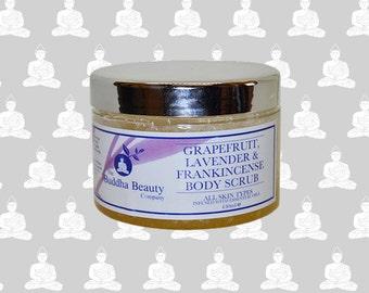 Grapefruit, Lavender & Frankinsence Dead Sea Salt Body Scrub 450ml