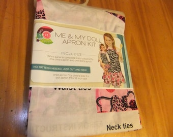Childs and Doll Apron Kit - Me & My Doll Apron Kit