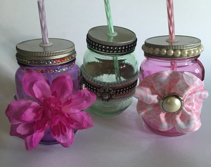 Decorative Jar Glasses