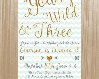 Young Wild AND Three Invitation