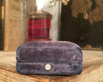 Antique Lavender velvet box