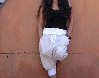 Goucho Pants ....Capri Pants ....Pants ...Color 2 Tone