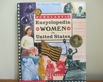 first printing Scholastic Encyclopedia of Women in the United States