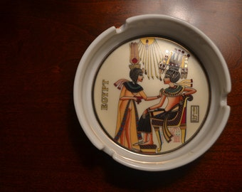Vintage ancient Egyptian ash tray (free shipping)