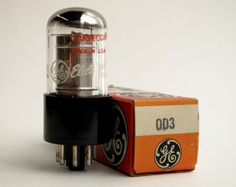 General Electric 0D3 / 0D3A voltage regulator tube - new old stock - vacuum tube