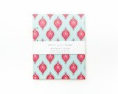 Blank Sketchbook // Journal - Light Blue and Pink