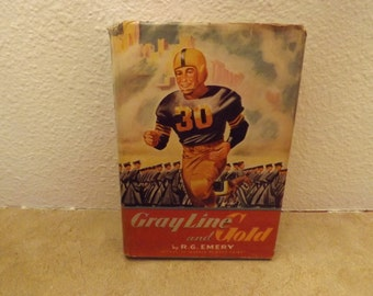 Gray Line and Gold Book By R.G. Emery