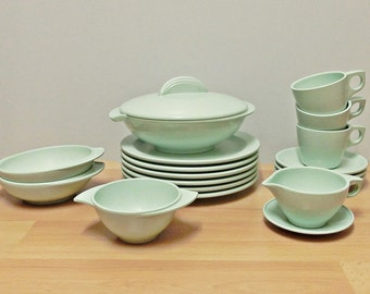 Boonton melamine dishes in mint 50 J. United States