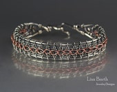 Laced Up Woven Bracelet Tutorial