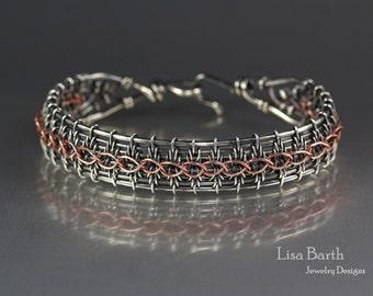 Copper Wire Weaving Etsy