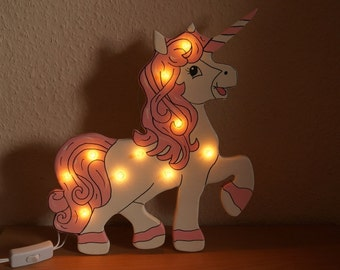 "Night lamp ""Unicorn"""