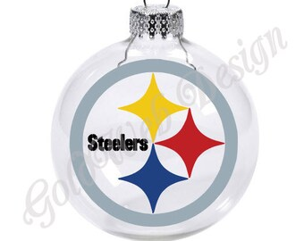 Steelers ornament | Etsy