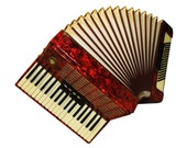 Weltmeister Stella, 96 Bass, 8 Registers, Used, Old German Piano Accordion, 724, Accordian For Sale
