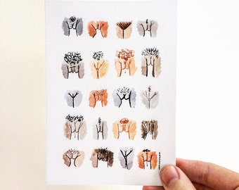 Single Postcard • The Vulva Gallery #4