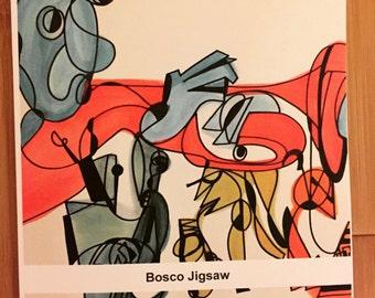 Bosco Jigsaw - book of musician illustrations